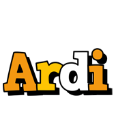 Ardi cartoon logo