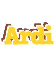 Ardi hotcup logo