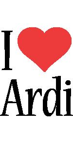 Ardi i-love logo