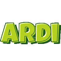 Ardi summer logo