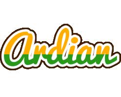 Ardian banana logo