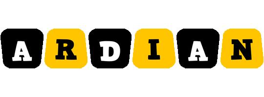 Ardian boots logo