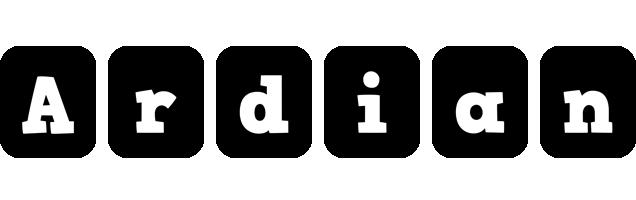 Ardian box logo