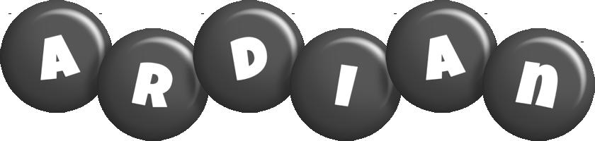 Ardian candy-black logo