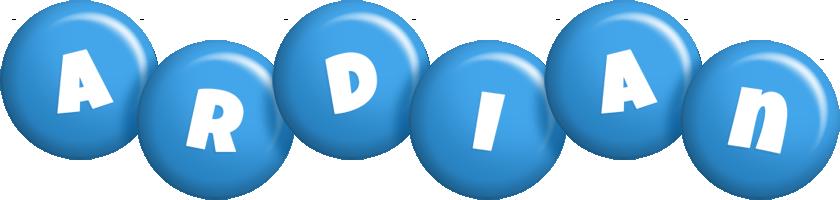 Ardian candy-blue logo