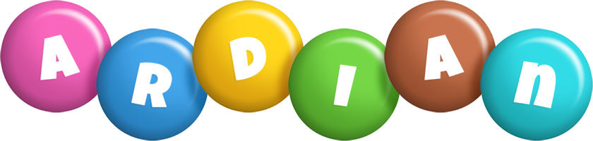 Ardian candy logo