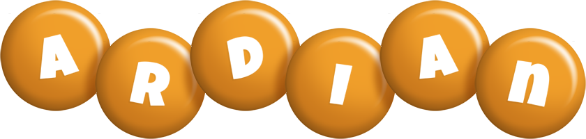 Ardian candy-orange logo