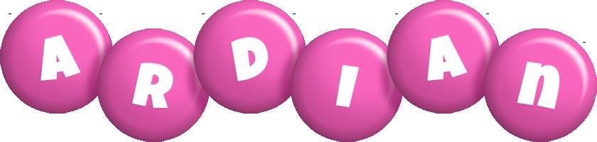 Ardian candy-pink logo