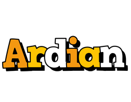 Ardian cartoon logo