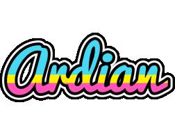 Ardian circus logo
