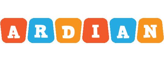Ardian comics logo