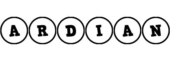 Ardian handy logo