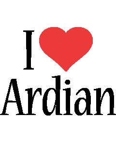 Ardian i-love logo