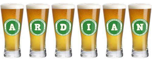 Ardian lager logo