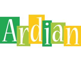 Ardian lemonade logo