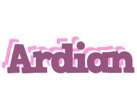Ardian relaxing logo