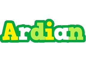 Ardian soccer logo