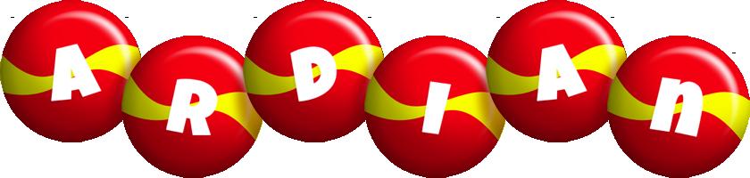 Ardian spain logo
