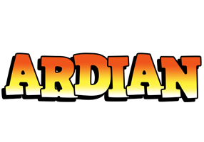 Ardian sunset logo