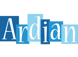 Ardian winter logo