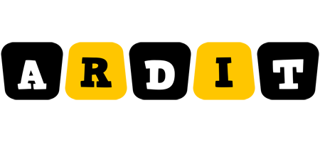 Ardit boots logo
