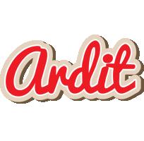 Ardit chocolate logo