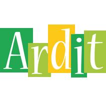 Ardit lemonade logo