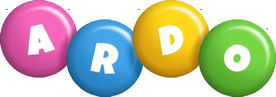 Ardo candy logo