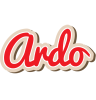 Ardo chocolate logo