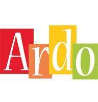 Ardo colors logo