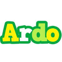 Ardo soccer logo