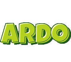 Ardo summer logo