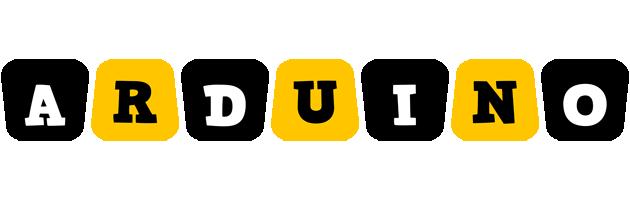 Arduino boots logo