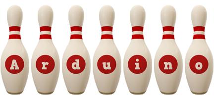 Arduino bowling-pin logo