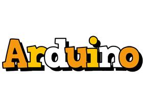 Arduino cartoon logo