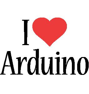 Arduino i-love logo