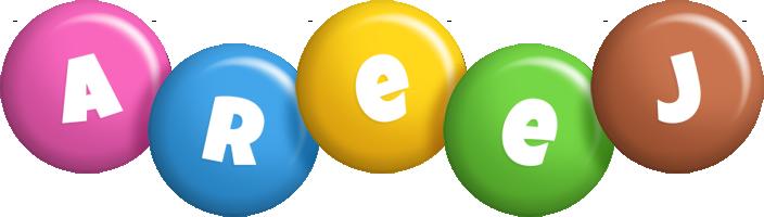 Areej candy logo