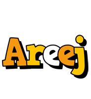 Areej cartoon logo