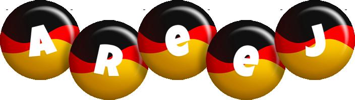 Areej german logo