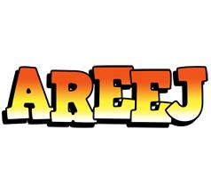 Areej sunset logo