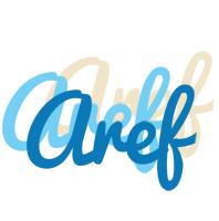 Aref breeze logo