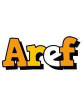 Aref cartoon logo