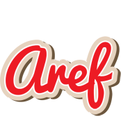 Aref chocolate logo