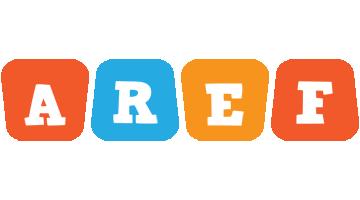 Aref comics logo