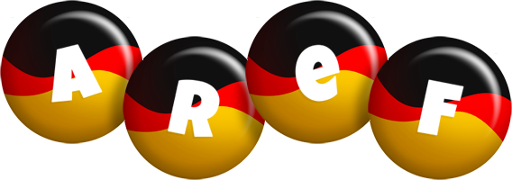 Aref german logo