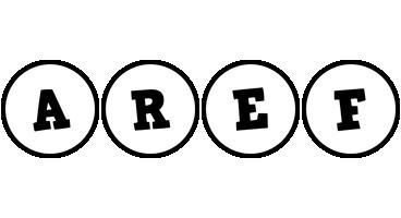 Aref handy logo