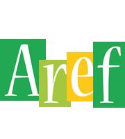 Aref lemonade logo