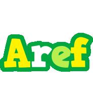 Aref soccer logo
