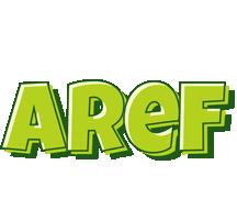 Aref summer logo