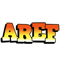 Aref sunset logo